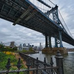 The Manhattan Bridge from Brooklyn