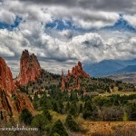 Clearing storms in Garden of the Gods