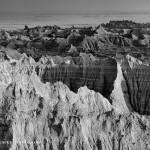 Afternoon in the Badlands (Silver Efex Pro 2)