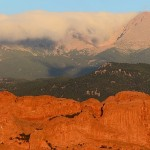 Sunrise at Garden of the Gods (Panorama image)