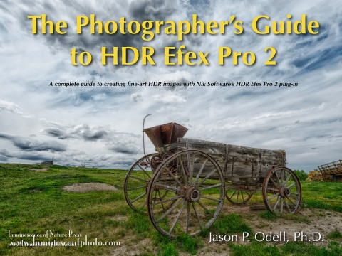 Introducing The Photographer's Guide to HDR Efex Pro 2, a complete reference for Nik Software's HDR Efex Pro 2.0 plug-in for Lightroom, Photoshop, and Aperture.