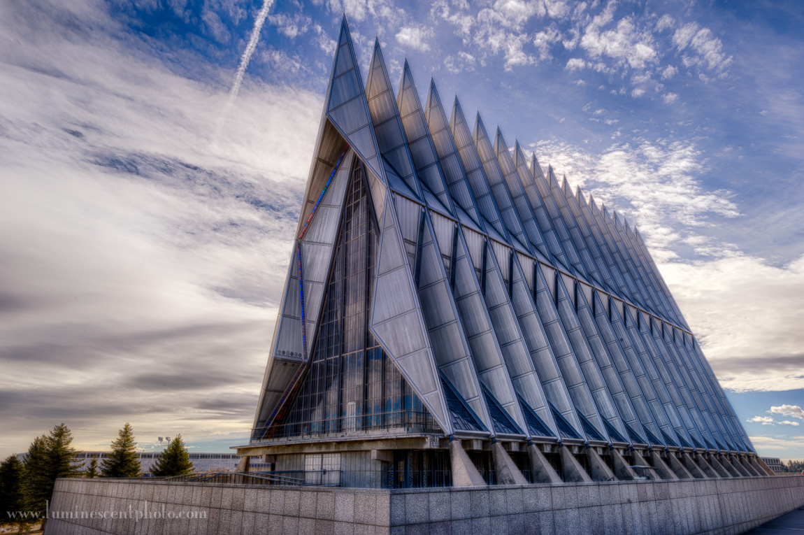 USAF Academy Cadet Chapel, Colorado Springs, CO