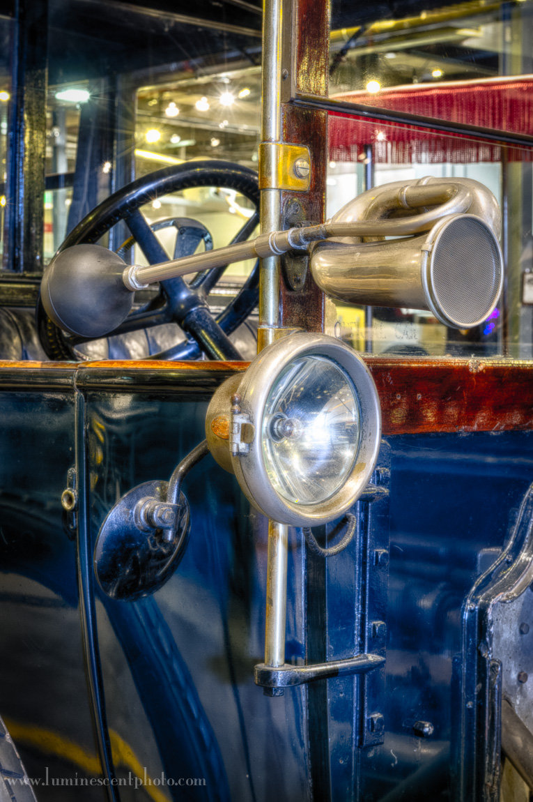 Antique car, Forney Museum of Transportation, Denver, Colorado. Nikon D4 with 24-70mm f/2.8 Nikkor lens.