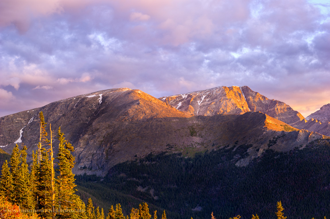 Sunrise at 12,000' in Colorado is a highlight of this photo safari.