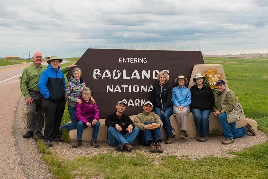 We had a great group of photographers and we rocked the Badlands! Image courtesy of Deborah Sandidge