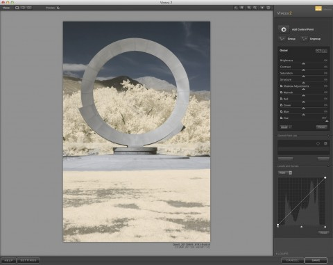 Viveza 2 can be used to perform hue and saturation adjustments, as well as other enhancements.