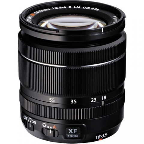 The Fuji XF 18-55mm f.2.8-4.0 R LM OIS lens has image stabilization. How well does it work?