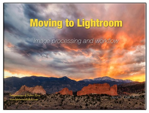 Moving to Lightroom: Image processing and workflow is mandatory reading for anyone wanting to learn how to manage and process their images in Adobe Photoshop Lightroom.