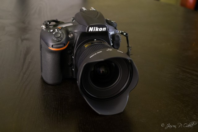 Nikon 20mm f/1.8 AFS G Nikkor mounted on a Nikon D810 DSLR.
