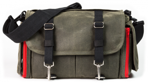 The Domke Ledger bag in Ruggedwear/Military (Image courtesy Tiffen USA)
