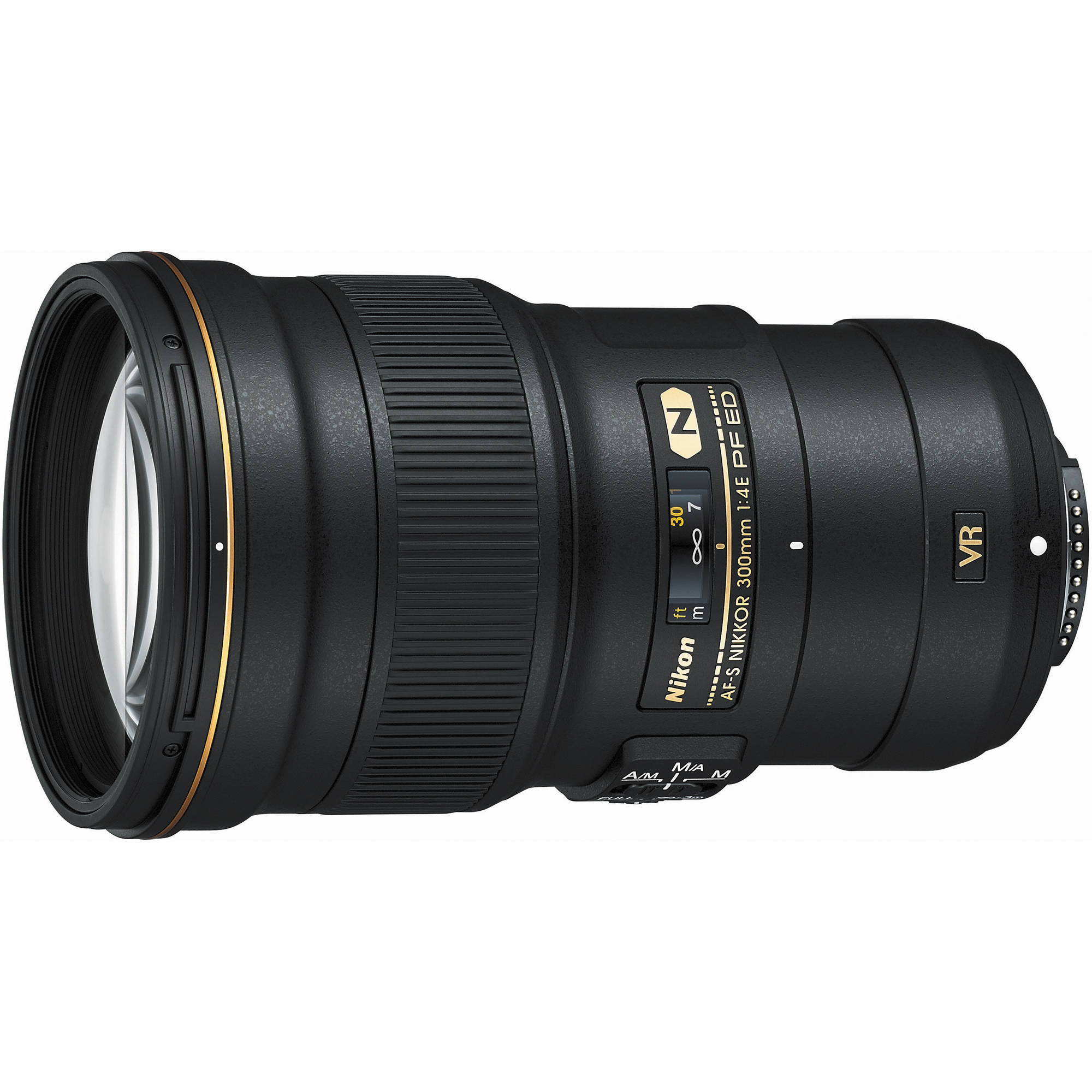 The Nikon 300mm f/4E PF ED VR lens incorporates a phase-fresnel element and weighs half as much as its predecessor.