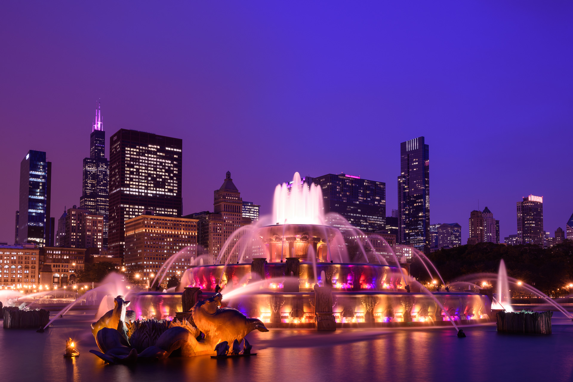 Buckingham Fountain is just one of the fabulous locations you'll photograph on our Chicago: Art & Architecture instructional photo tour August 19-23, 2015.