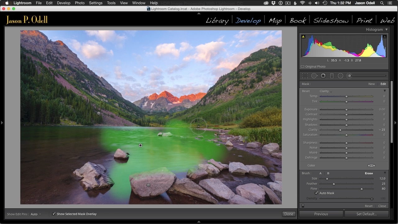 Work on RAW HDR images directly in Lightroom and get natural results. Check out my video tutorial to learn more!