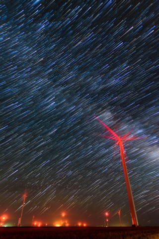 Learn to capture and process creative night sky images including star trails.