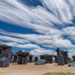 Cloud Stack over Carhenge