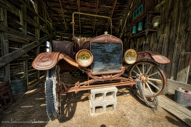 Model T, processed in Aurora HDR