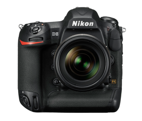 The new Nikon D5 flagship DSLR (image courtesy Nikon USA).