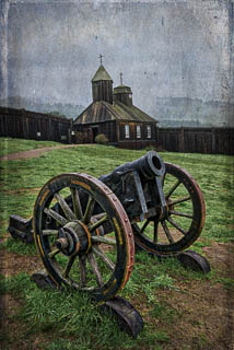 Historic Fort Ross was a Russian outpost in the 1800s.