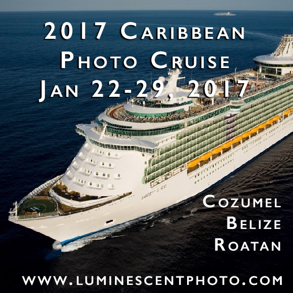 Join me onboard Liberty of the Seas January 22-29, 2017 for an all-inclusive photo cruise and travel photography workshop!