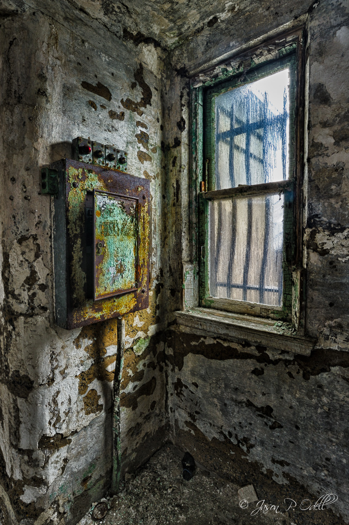 """Beauty in Ruins"" Eastern State Penitentiary, Philadelphia, PA."