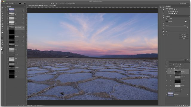 Luminosity masks let you target adjustments to tone ranges and are based on the pixels in your photographs.