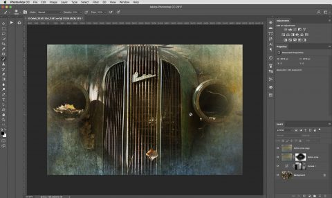 Photoshop layers allow me to selectively and non-destructively edit pixel images and create creative composites.