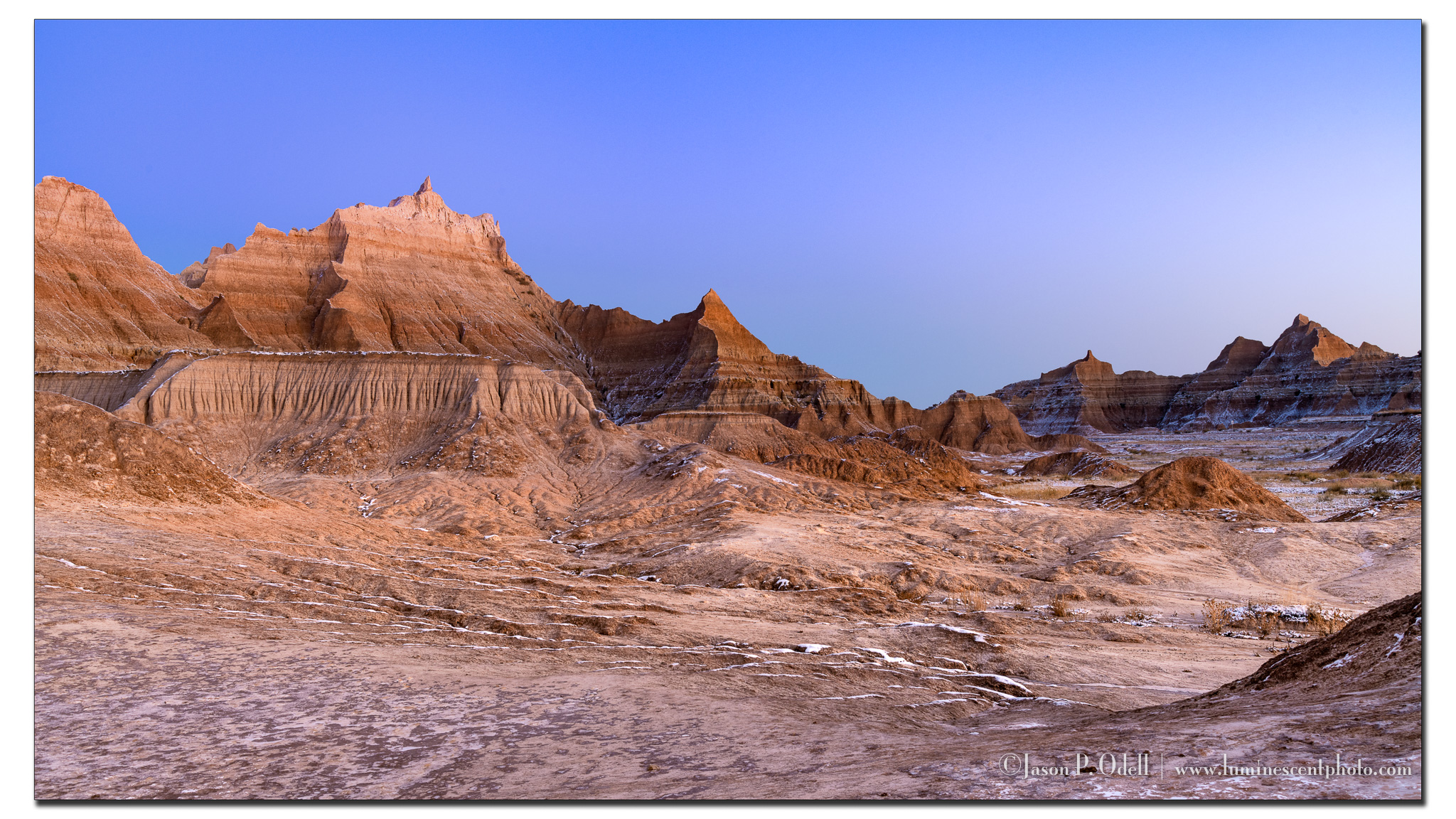 Badlands Blue Hour