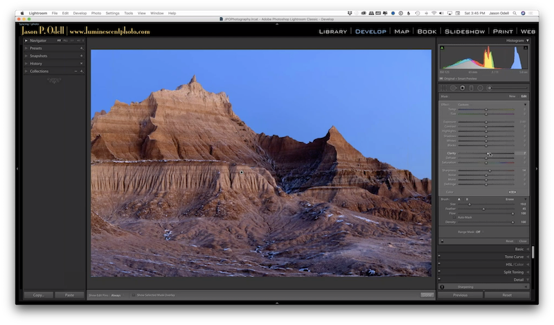 Lightroom Sharpening Video